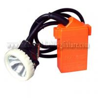Quality KJ4.5LM 1w IP67 LED Mining Cap Lamp 4500Lux 220V AC , Ni-MH Rechargeable Battery for sale