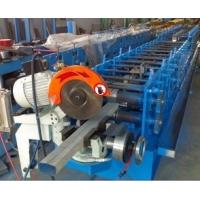 Wholesale Rectangular Gutter Downspout MachineMold Cutting PPGI / Aluminium Raw Material from china suppliers