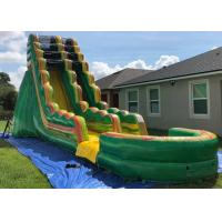 Wholesale Popular Inflatable Backyard Water Slide And Pool Safe And Convenient Air Flap from china suppliers