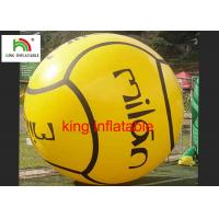 China Yellow Inflatable Water Walking Ball 1.0 Mm Pvc 45*30*30cm CE on sale