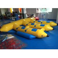 Wholesale Water Games Inflatable Fly Fishing Boats , Inflatable Banana Boat Towables from china suppliers