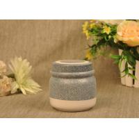 Wholesale 350 Ml Glazed Tealight Ceramic Candle Holder with Lid , Reusable from china suppliers