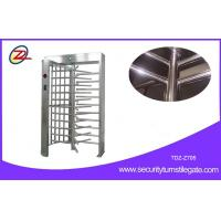 China Remote Control Single Lane Type Full Height Turnstile CE Approved on sale