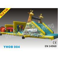 Wholesale Warp-115N Weft-121.8N 1000D PVC Outdoor Inflatable Obstacle Courses YHOB-004 from china suppliers
