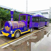 Wholesale Theme Park Diesel Train Rides 42 Riders High Performance Long Working Life from china suppliers