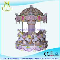Wholesale Hansel indoor amusement park rides royal horse carousel rides from china suppliers
