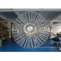 Wholesale PVC Or TPU Inflatable Land Zorb Ball For Event / Giant Human Hamster Ball from china suppliers