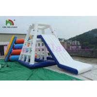 0.9mm PVC Tarpaulin Inflatable Water Toy Slide For Adults / Inflatable Water Equipment