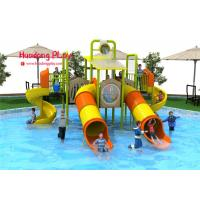 Wholesale OEM Water Park Equipment  710*645*400cm , Water Slide Equipment 16 CBM from china suppliers