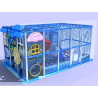 Wholesale Sea Creature Theme Indoor Amusement Park Equipment / Indoor Climbing Structure For Toddlers from china suppliers