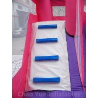 Wholesale Commercial Grade 0.55mm PVC Tarpaulin Princess Inflatable Jumping Castle with Slide for kids from china suppliers