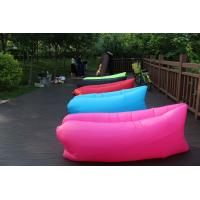 Wholesale 260cmx70cm Custom Inflatable Air Sofa Sleeping Bag Waterproof Colorful from china suppliers