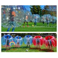 Wholesale PVC Huge Clear Inflatable Bumper Ball Human Body Zorb Ball (CY-M2728) from china suppliers