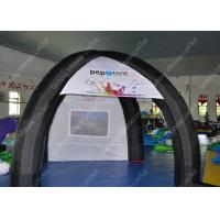 Wholesale Blue PVC Large Inflatable Tent For Exhibition 65.6 x 164ft With Waterproof from china suppliers