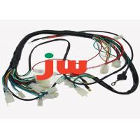 Wholesale Auto Trailer Plug Wiring Harness / Trailer Light Wiring Harness Braided PVC Insulation from china suppliers