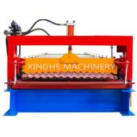 Wholesale Automatic 850 Metal Roofing Corrugated Tile Roll Forming Machine / Colored Steel Sheet Roll Making Machine from china suppliers