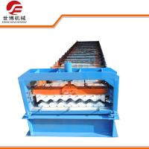 Wholesale 780 Model Aluminium Corrugated Roll Forming Machine / Roof Tile Roll Forming Machine from china suppliers