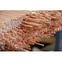 Wholesale Copper Coated Compressor Tubes , Double Wall Weld Pipes 3.6 * 0.5 mm For Refrigeration System from china suppliers