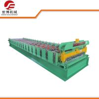 Quality Twin Rib Cold Roll Forming Machines , Galvanized Steel Roll Forming Machine for sale