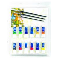 Wholesale Rectangular Drawing Art Sets , Fashion Art Studio Paint Set For Adults from china suppliers