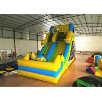 Hot sale digital printing inflatable the minions standard dry slide inflatable single dry slide