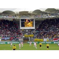 China Outdoor VGA DVI RGBHV Stadium Perimeter LED Display P6 LED Module on sale