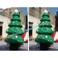 Wholesale Holiday Inflatable Christmas Tree Decorations PVC from china suppliers