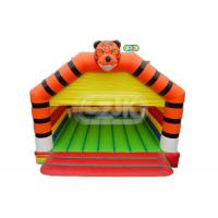 Wholesale Commercial Tiger Jumper Adult Size Bounce House 5 - 10 People Game Capacity from china suppliers
