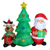 Buy cheap 2015 Hot Sale LED Inflatable Christmas Tree Decorations for Christmas Holiday from wholesalers