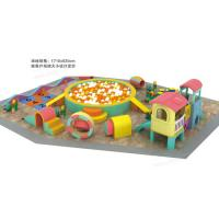 Wholesale Non Toxic Material Indoor Soft Playground Parent - Child Kindergarten Tunnel Combination from china suppliers
