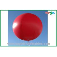 China Commercial Red Inflatable Balloon Helium Advertising Balloons For Wedding on sale
