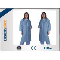 China Waterproof Medical Student Disposable Lab Coat Lab Jackets For Doctors Zip Closure on sale