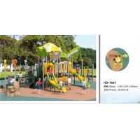 Wholesale Kids Outdoor Playsets Playground LLDPE Plastic Playground Amusement Park Children Play House Outdoor Equipment from china suppliers