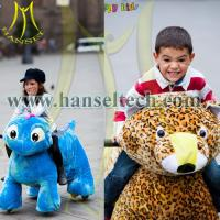 Wholesale Hansel coin operated walking ride electronic toys from china suppliers