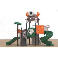 Wholesale children outdoor rock climbing wall playground equipment slides from china suppliers