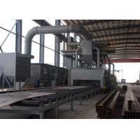 Buy cheap Abrasive Anti - Rust Roller Conveyor Shot Blasting Machine Custom Colors from wholesalers