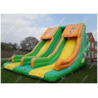 Wholesale Rent Backyard Huge Inflatable Water Slides For Water Park / Games from china suppliers