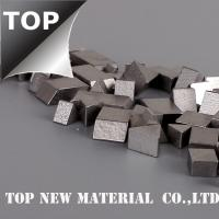 Wholesale Specical Shaped Solid Stellite Circular Saw Tips High Precision Silver Color from china suppliers