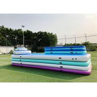 Eco Friendly Fitness Exercise Inflatable Gymnastics Mat For Home