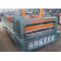 Wholesale PPGI Roof Panel Roll Forming Machine , Corrugated Sheet Roll Forming Machine from china suppliers