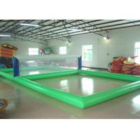 Wholesale Attractive Inflatable Sports Games 15 × 8m Inflatable Volleyball Court from china suppliers
