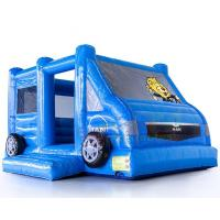 Buy cheap Motor Vehicle Inflatable Jumpers Commercial 0.55mm Pvc Moon Bounce House from wholesalers
