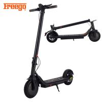 Alloy Material Folding Motor Scooters For Adults , Stand Up Motorised Scooters 350W Front Motor