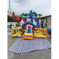 Wholesale cheap giant  Inflatable Slide Commercial  Inflatable Slide  inflatable bouncy castle with slide from china suppliers