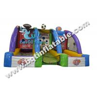 Wholesale Hot sell Inflatable basketball shoot,inflatable football goal,sporting game from china suppliers