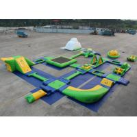 Wholesale Water Proof Blow Up Water Park , Inflatable Water Slide Park Environmently Friendly from china suppliers