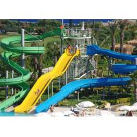 Wholesale Outdoor Spiral Water Slide Tube Slide Aqua Park Equipment 0.8-1.4m Diameter from china suppliers