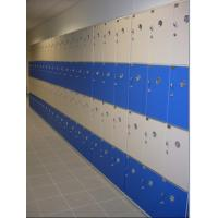 Wholesale PVC Material Blue School Lockers Durable Four Tier Lockers For Swimming Pool from china suppliers