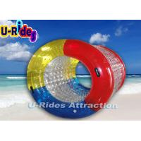 China Commercial Grade Body Roll Inside Inflatable Ball Blue , Red For Team Games on sale