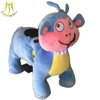 Wholesale Hansel motorized plush riding animal for kids non coin ride on animal toy for rental for parties from china suppliers